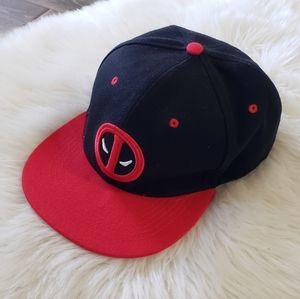 B2G1 Men's Marvel Deadpool Snapback Hat